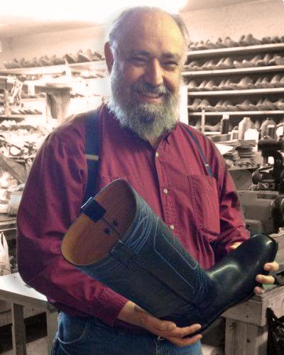 David Espinoza, Owner Espinoza Boot Maker