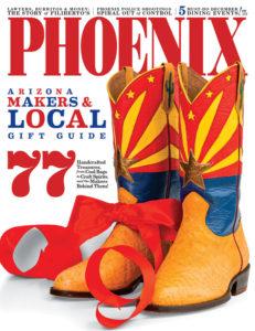 Espinoza Bootmaker Phoenix Magazine Cover